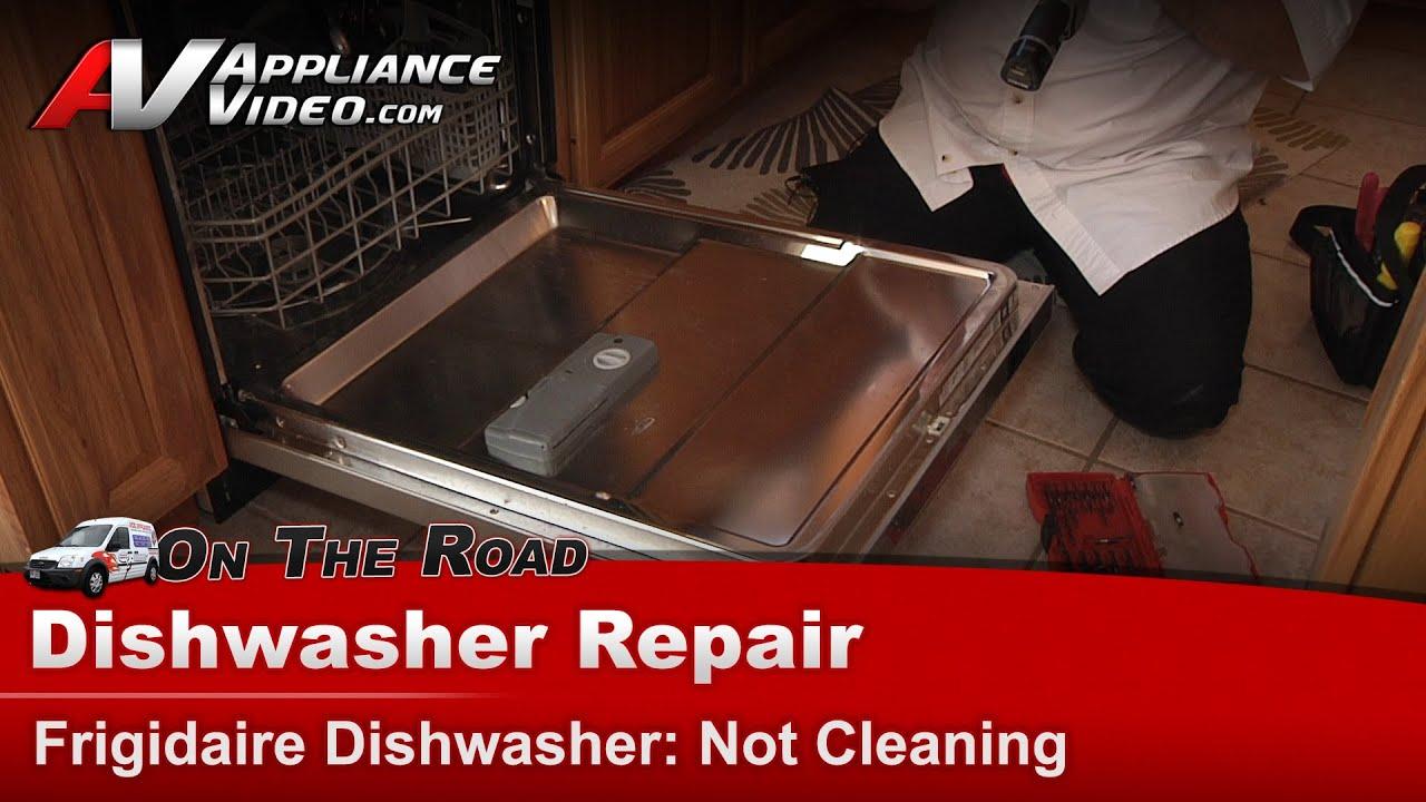 Frigidaire Electrolux Dishwasher Repair Not Cleaning Main Circuit Board Timer 12001631 Repaircliniccom Control Fphd2491kf0