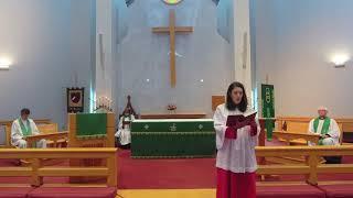 St  Thomas Episcopal 9 13 20 Service