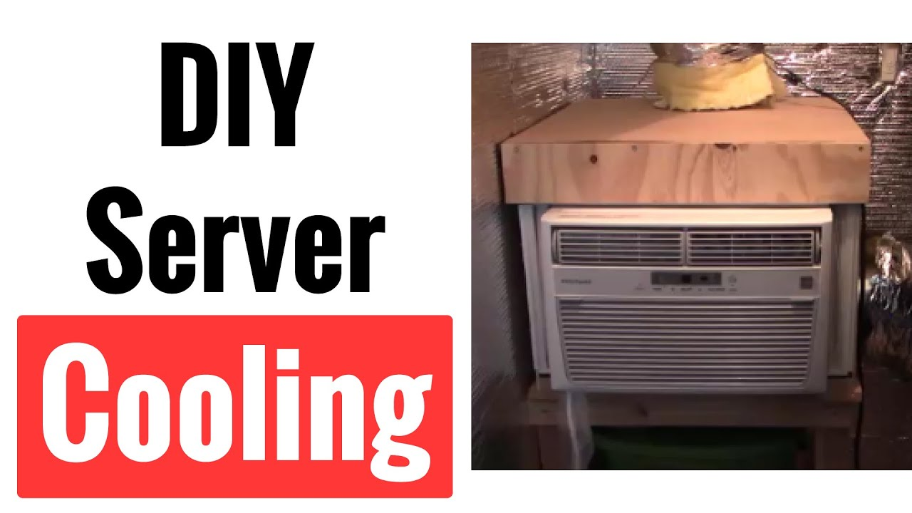 Garage Attic Air Conditioner Diy Server Closet Air Conditioner