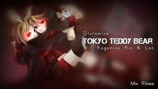 【 Kagamine Rin & Len + Glutamine 】 Tokyo Teddy Bear