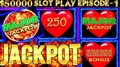 Lightning Link Slot Machine 2 MAJOR & HANDPAY JACKPOT |SEASON 6 | EPISODE #1