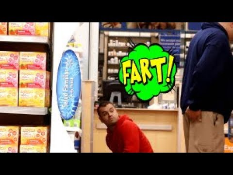 Funny Wet Fart Prank With The Sharter | The People Of Walmart | Shartweek episode 4