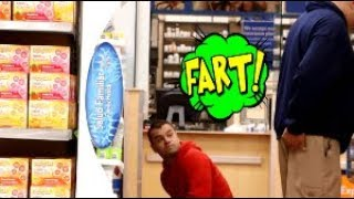 Funny Wet Fart Prank With The Sharter   The People Of Walmart   Shartweek episode 4