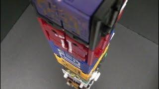 파워레인저 애니멀포스  9층 큐브탑 장난감 변신 Power Rangers Doubutsu Sentai Zyuohger 9th Floor Cube Tower Toys