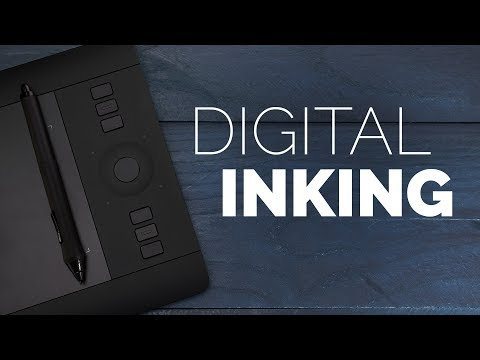 Digital Inking a Graphic Novel