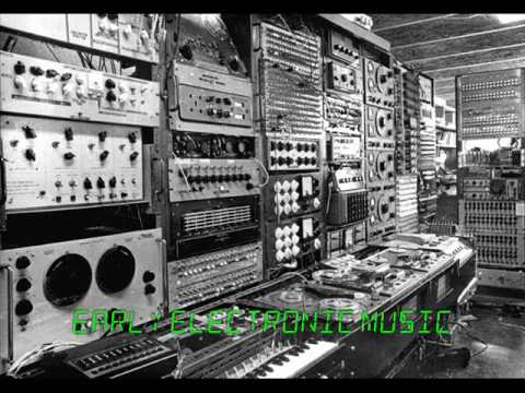 Creepy early electronic music (Tod Dockstader - Drone)