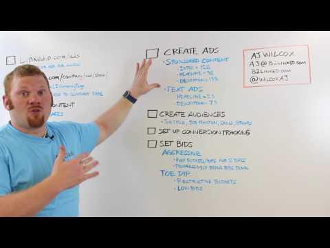 The Ultimate LinkedIn Ad Checklist | AJ Wilcox