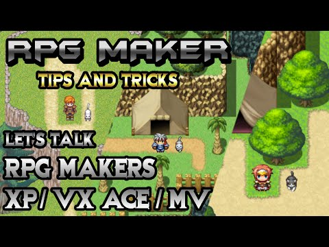 RPG Maker Let's Talk: XP, VXAce, And MV - A Look Back!