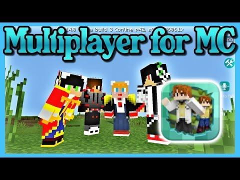 สอนเปิดเซิฟเล่นกับเพื่อน คุยกันได้ ฟรี!! - How to create server - Multiplayer for MC | MINECRAFT PE