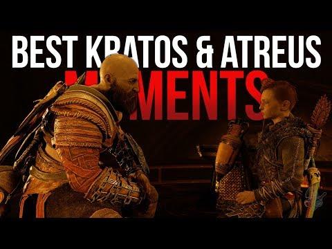 The Best Kratos & Atreus Moments in God of War