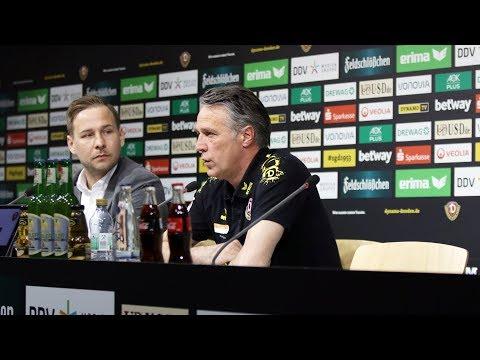28. Spieltag | SGD - FCN | Pressekonferenz vor dem Spiel