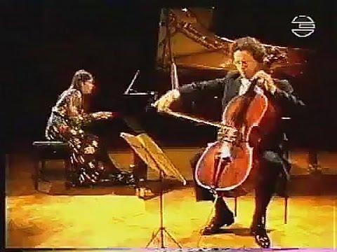 Cecile Licad & Antonio Meneses Brahms Cello Sonata No. 2 Op.99 in F Major