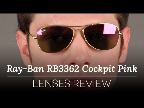 b99654d387 Ray-Ban RB3362 Cockpit Pink Lenses Review - YouTube