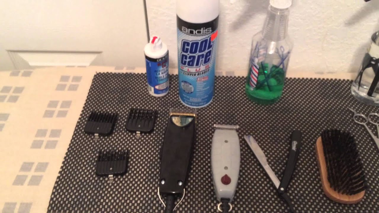 Beginning Barber Tools