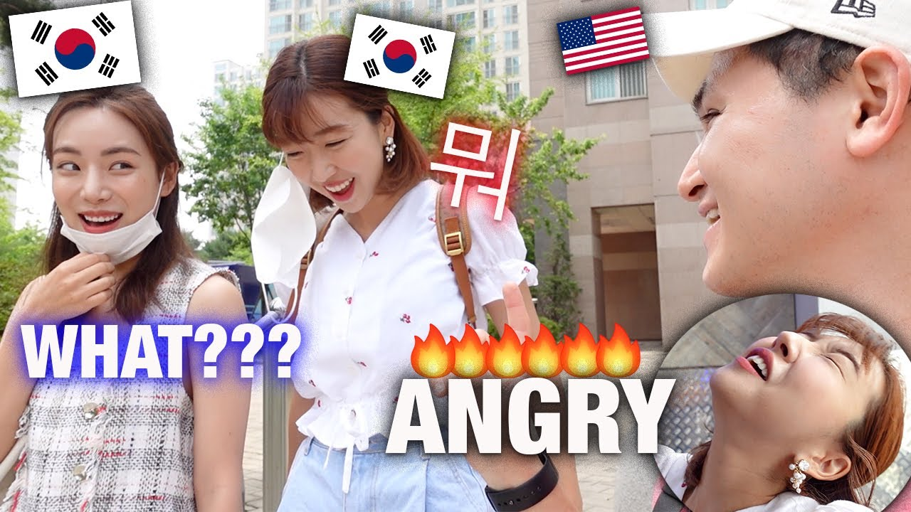 SPEAKING ONLY KOREAN TO MY AMERICAN BOYFRIEND FOR 24 HOURS | Sunny Dahye Gets Angry