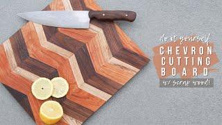 DIY Chevron Cutting Board   How To Tutorial