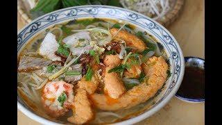BÚN SUÔNG - Shrimp and Pork Vermicelli Noodle Soup (Recipe)