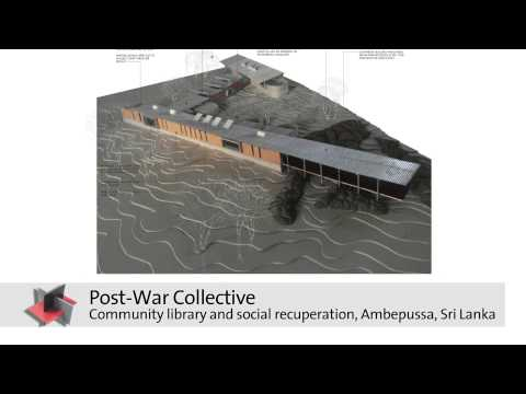 Post-War Collective: Holcim Awards Bronze 2014 for Asia Pacific – Project Overview