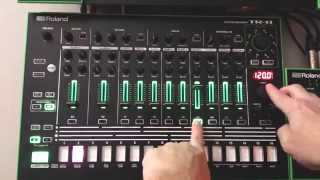 AIRA TR-8 Gain and Panning