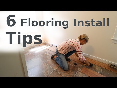 Laminate Floor Installation // Beginner How-To