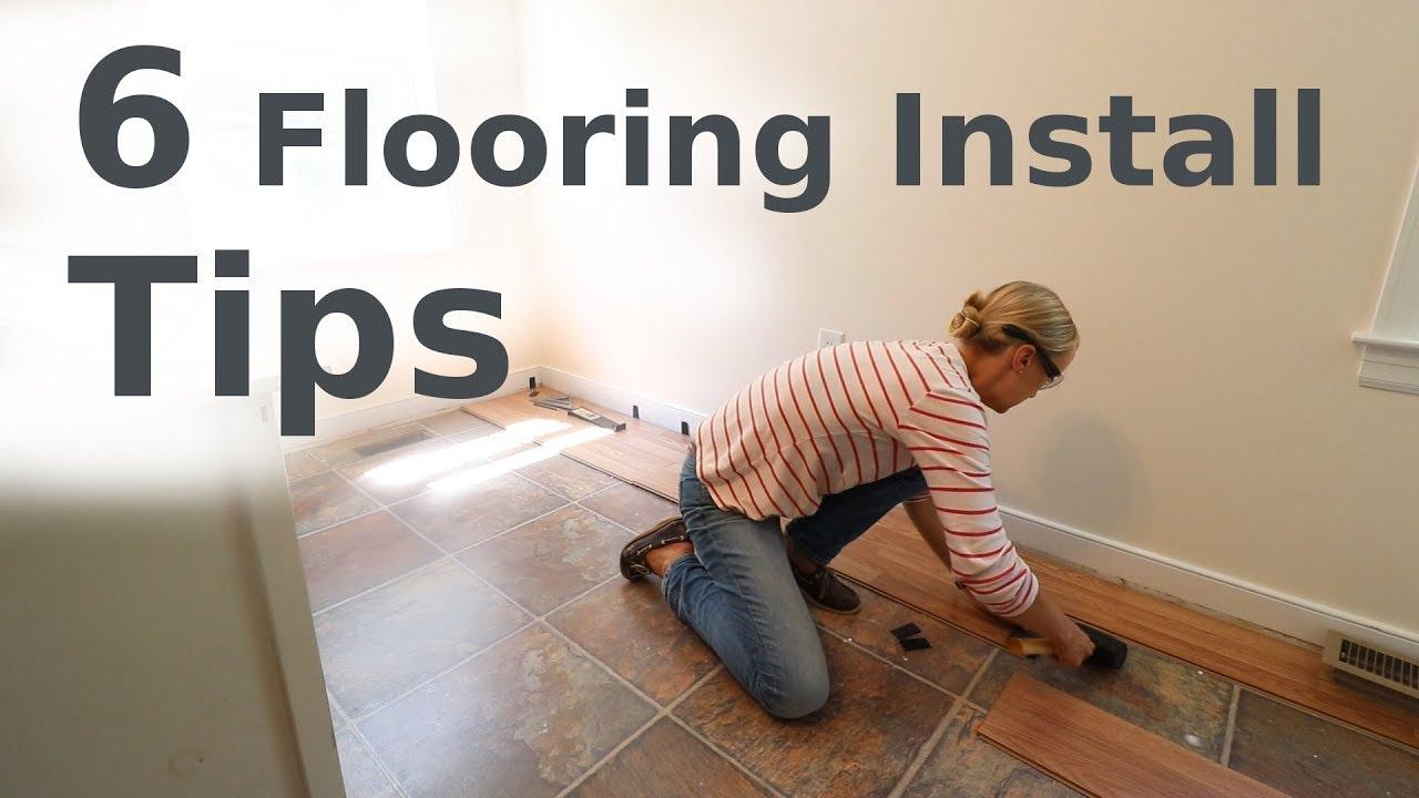 Laminate Floor Installation Beginner How To You