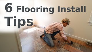 Laminate Floor Installation // Beginner How-To
