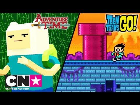 Време за приключения + Малки титани: В готовност! | Видео игри | Cartoon Network