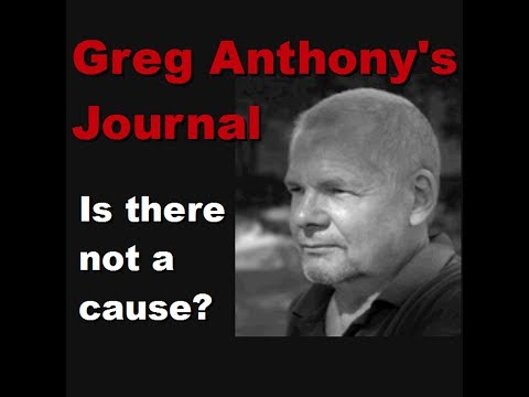 Vatican Assasins vs Rulers of Evil, Greg Anthonys Journal