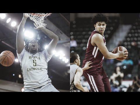 NJ State Chip! Roselle Catholic vs Don Bosco - Naz Reid, Ron Harper — TOC Final Full Highlights