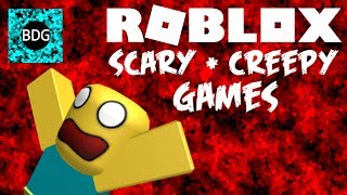 SCARY + CREEPY ROBLOX GAMES | MOST DISTURBING GAME YET