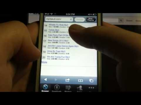 How to get free music on your iPod touch