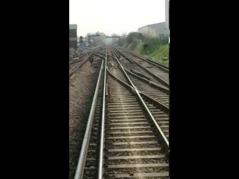 Waterloo East to Dartford train journey (Drivers View)