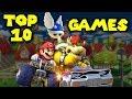 Top 10 Mario Kart Games!