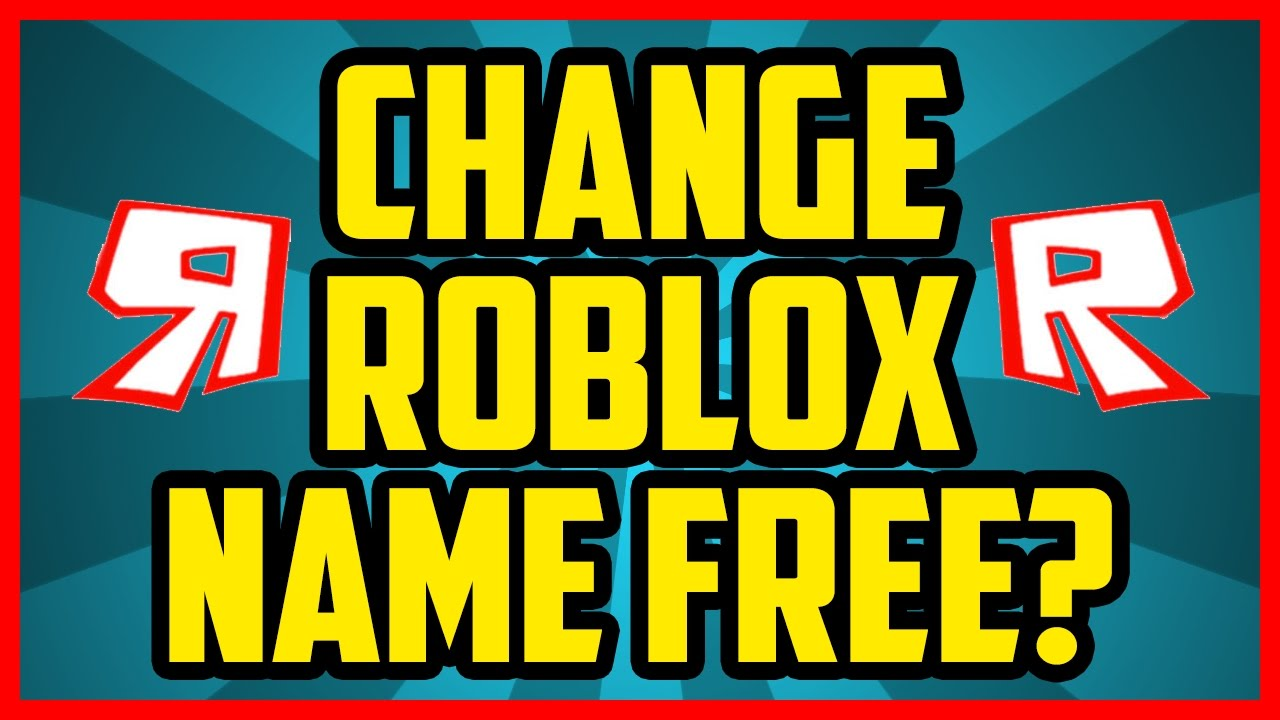 Can I Change My Roblox Username For Free  How To Change Your Roblox Username Discussion