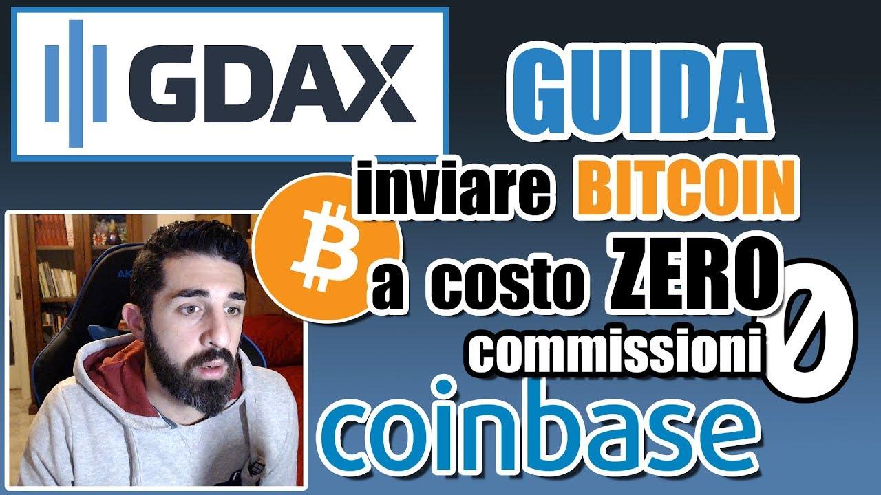 COINBASE PRO - INVIARE BITCOIN A COSTO ZERO SENZA COMMISSIONI GUIDA [VERIFICA DOCUMENTO BTC ...
