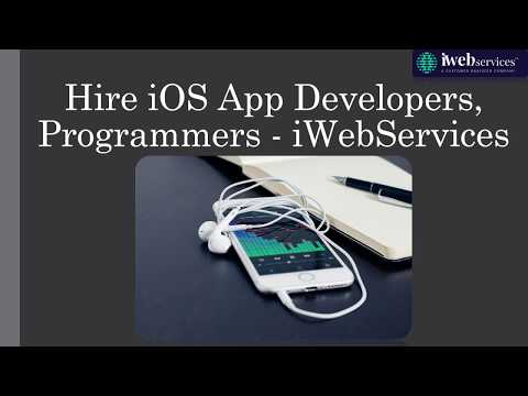 Hire Best iOS App Programmers - iWebServices