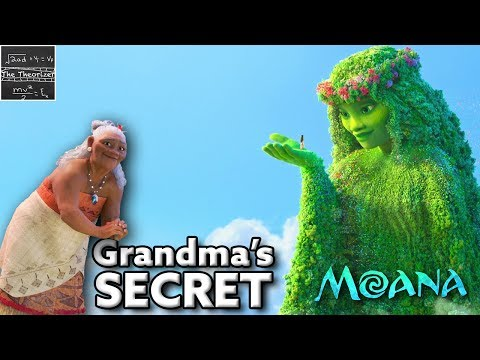 The Shocking TRUTH About the Grandma From Moana - Disney [Theory]