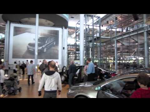 Visiting The Volkswagen Transparent Factory