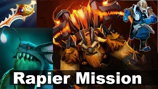 (monkey) Rapier Drop-Delivery-Scamz Mission Dota 2