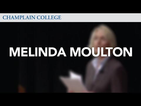 Melinda Moulton: Speaking from Experience