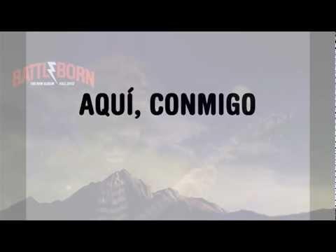 The Killers - Here With Me (en español)