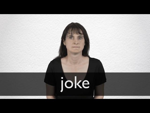 Joke Synonyms | Collins English Thesaurus
