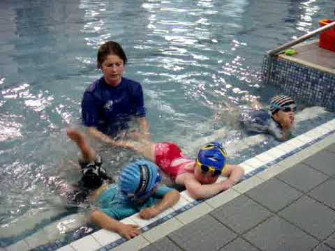 Millie Seaman Swimming lesson