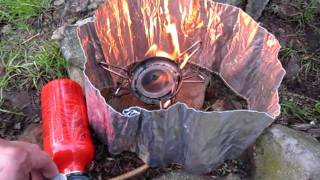 How To Light Up MSR WhisperLite Stove
