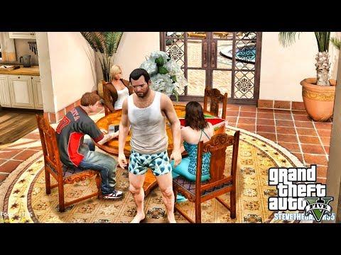 GTA 5 REAL LIFE MOD MICHAEL #15 THE BUTLER!! (GTA 5 REAL LIFE MOD)