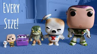 Pocket Size to Life Size Funko Pops!