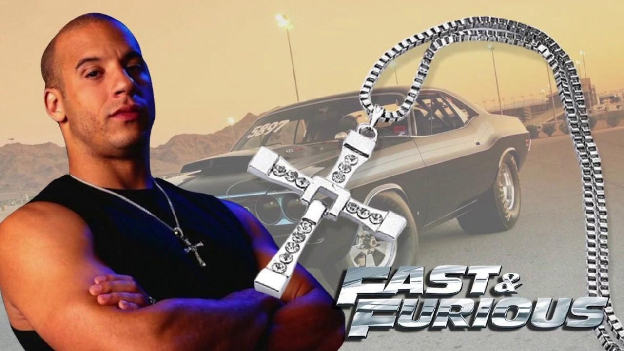 da1efe7e33518 Dominic Toretto Cross Necklace - Fast & Furious