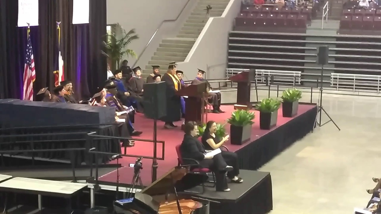 Lone Star College Kingwood Graduation Speech 2017