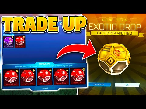 TRADE UP DROPS On ROCKET LEAGUE! INSANE SEASON 3 Update Idea For EXOTIC AND BLACK MARKET DROPS