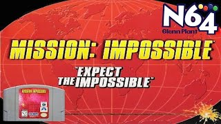 Mission Impossible  (Nintendo 64 Gameplay)